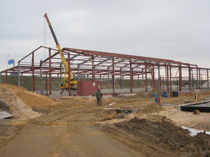 Строительство комплекса сооружений  Дорожно-эксплутационного управления (ДЭУ) в районе ж/д ст. Мурино