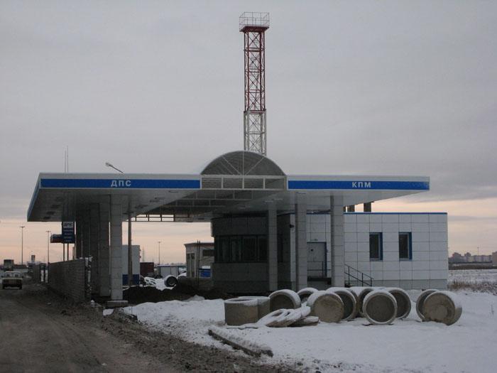 Строительство комплекса сооружений Дорожно-эксплуатационного управления (ДЭУ)в районе Вантового моста