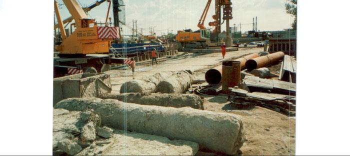 Строительство автотранспортного тоннеля в районе ж/д ст. Мурино